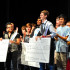 Students perform at the 2013 Variety Show, junior Jacob Ray wins first place and  a scholarship from the Paige Parks Agency