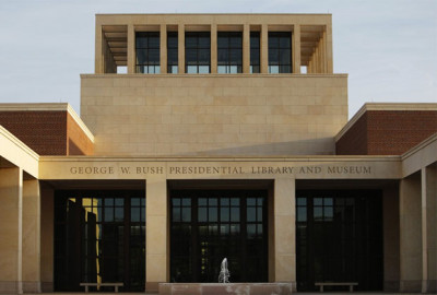 George W. Bush's Presidential Library Opens to Public
