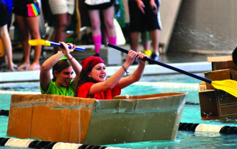 Physics Classes Participate in Boat Races