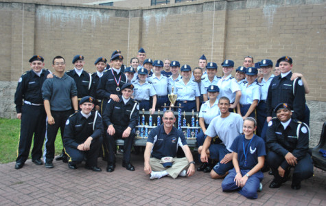 AFJROTC Drill Team wins Salute to Veterans Overall Meet Championship