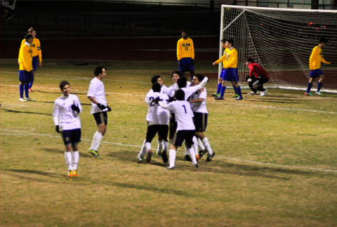 Varsity Men's Soccer makes history